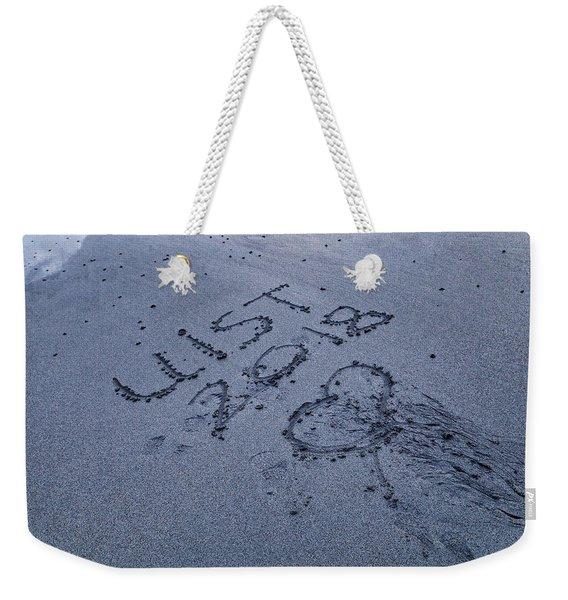 Hebridean Love Weekender Tote Bag