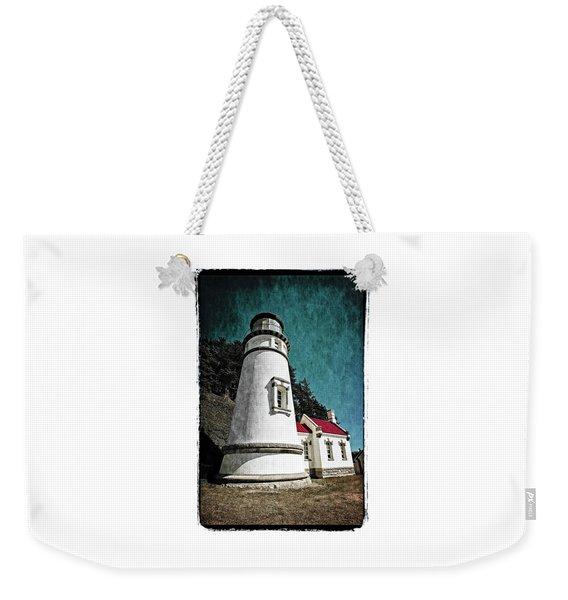 Hecitia Head Lighthouse Weekender Tote Bag