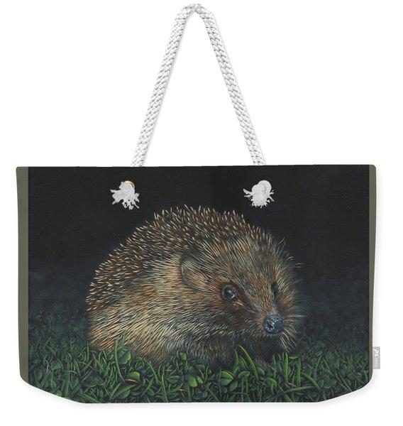 Hedgehog Weekender Tote Bag
