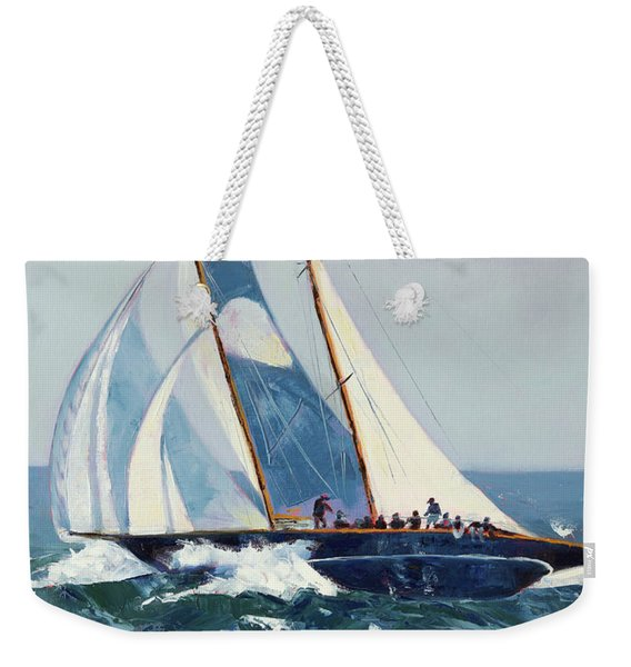 Heeling Winds Weekender Tote Bag