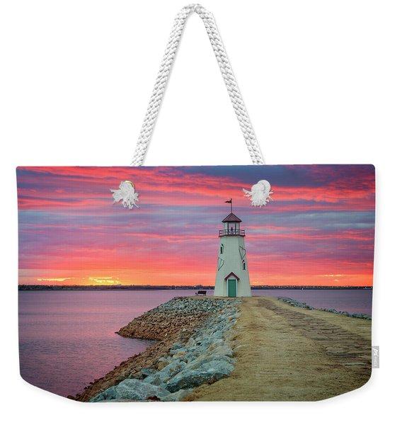 Hefner Sunset IIi Weekender Tote Bag