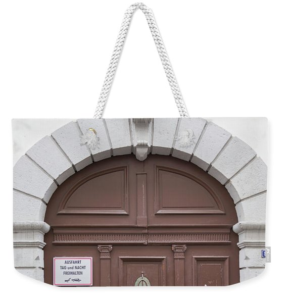 Heidelberg Door 11 Weekender Tote Bag