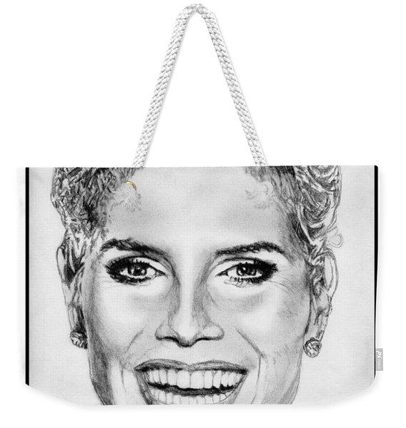 Heidi Klum In 2010 Weekender Tote Bag