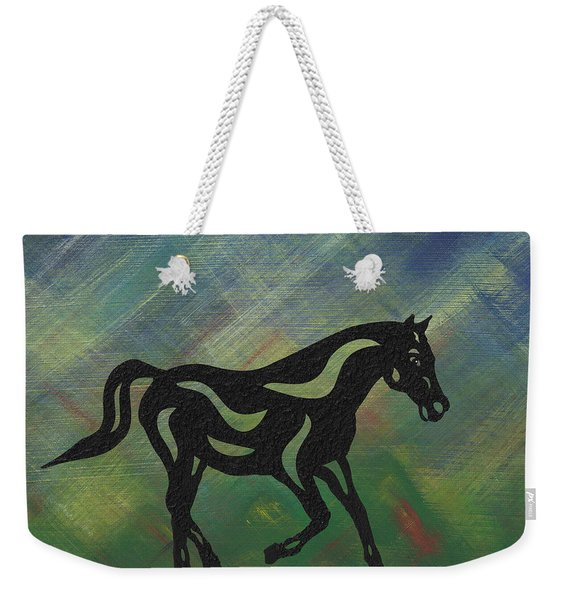Heinrich - Abstract Horse Weekender Tote Bag