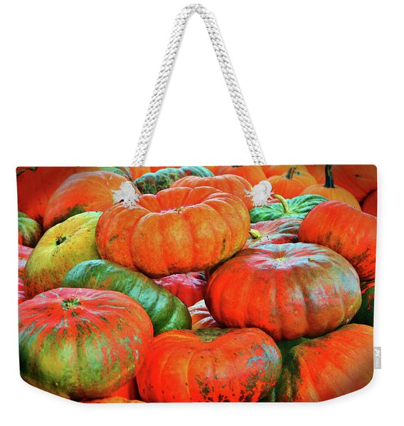 Heirloom Pumpkins Weekender Tote Bag