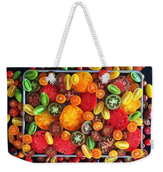 Heirloom Tomato Medley Weekender Tote Bag