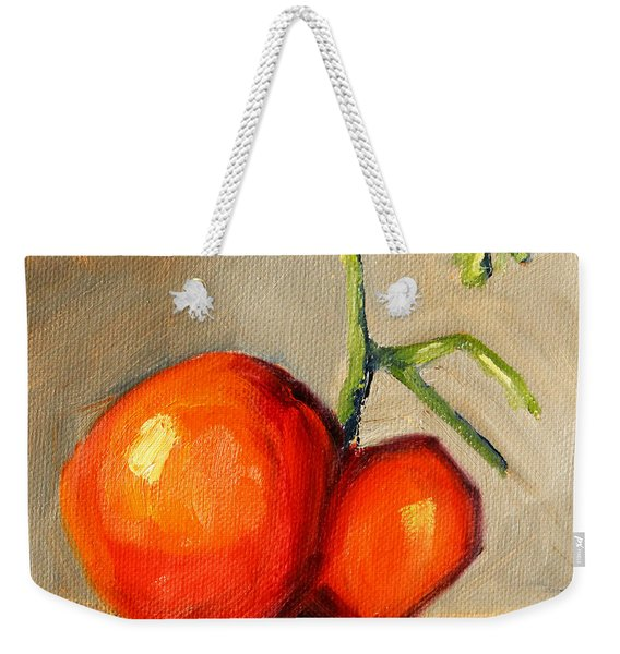 Heirloom Tomato Weekender Tote Bag