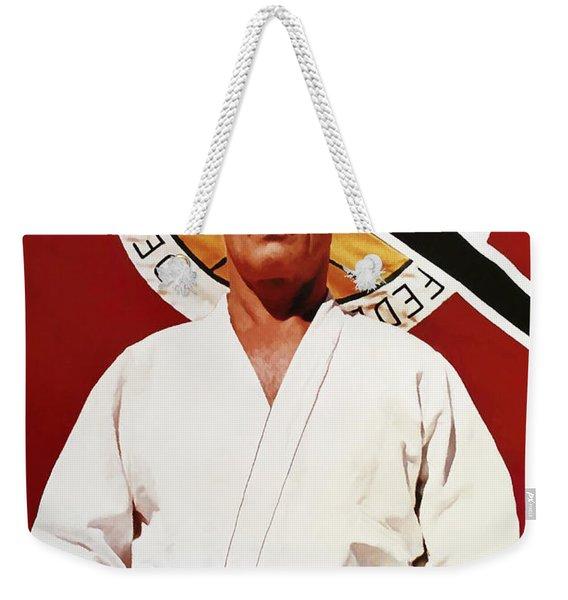 Helio Gracie - Famed Brazilian Jiu-jitsu Grandmaster Weekender Tote Bag