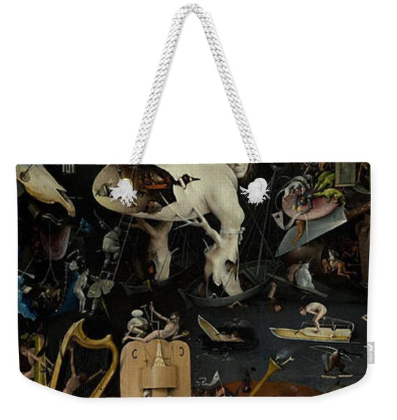 Hell    The Garden Of Earthly Delights Weekender Tote Bag