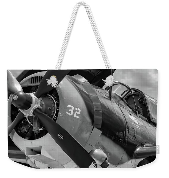 Helldiver's Nose - 2017 Christopher Buff, Www.aviationbuff.com Weekender Tote Bag