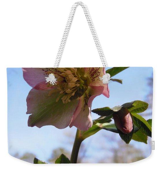 Hellebore Morning Weekender Tote Bag