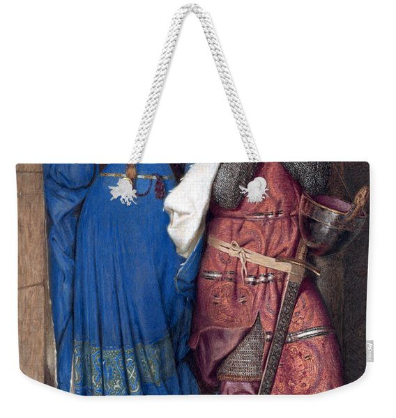 Hellelil And Hildebrand Or The Meeting On The Turret Stairs Weekender Tote Bag