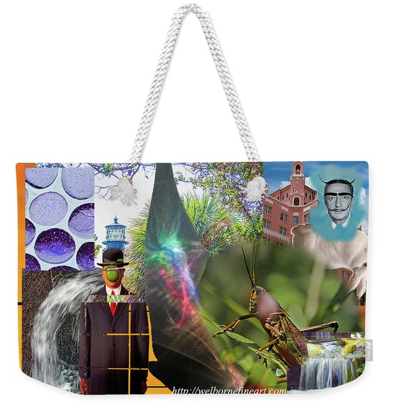 Hello Dali Weekender Tote Bag