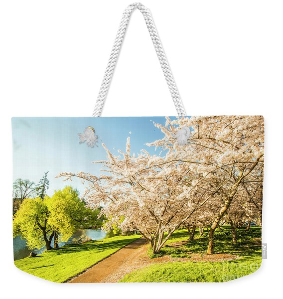 Hello, I'm In Deloraine Weekender Tote Bag