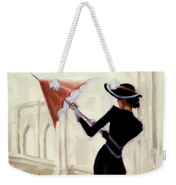 Hello New York Weekender Tote Bag