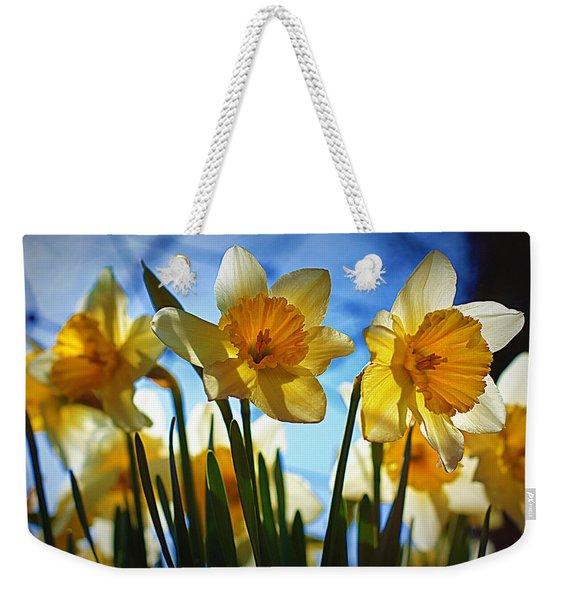 Hello Spring Weekender Tote Bag