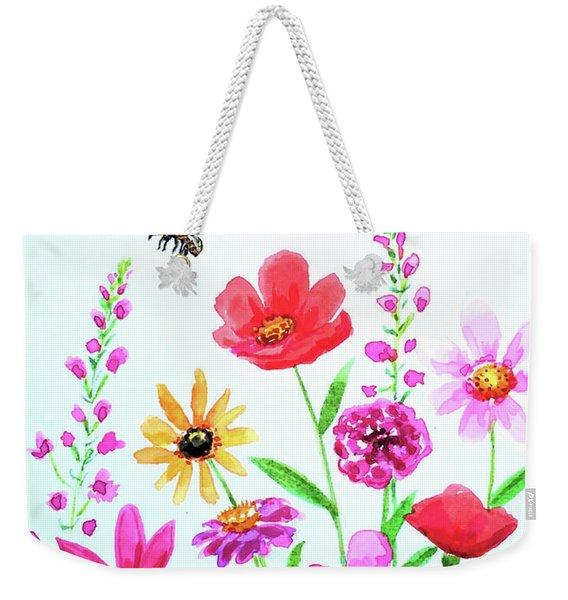 Hello Sunshine Weekender Tote Bag