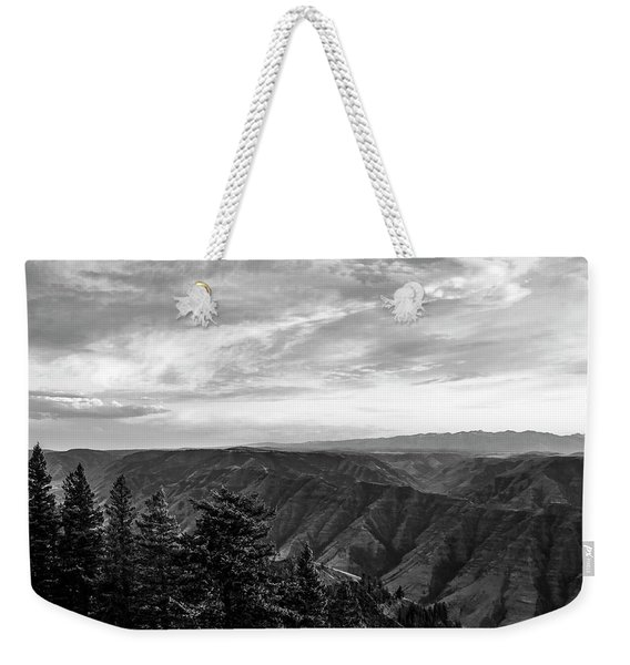 Hells Canyon Drama Weekender Tote Bag