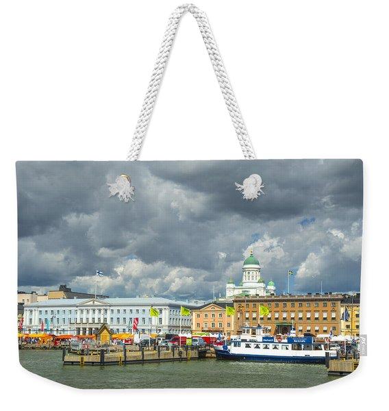 Helsinki, South Harbor Weekender Tote Bag