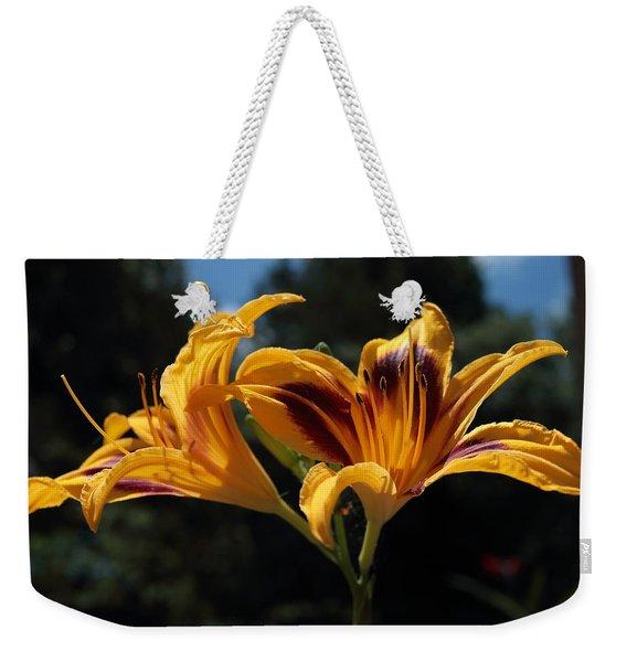Hemerocallis Weekender Tote Bag