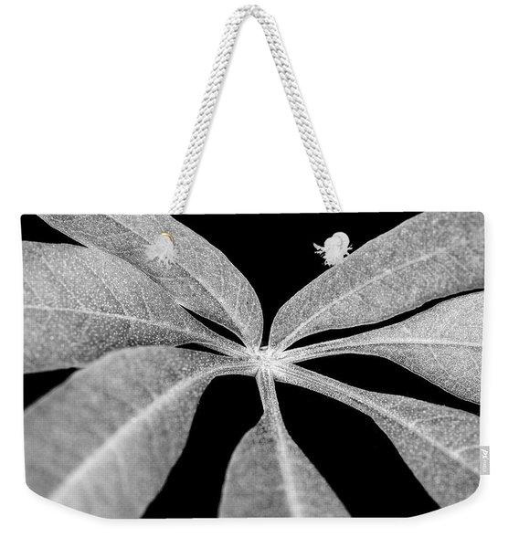 Hemp Tree Leaf Weekender Tote Bag