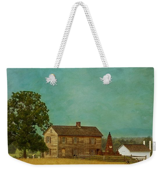 Henry House At Manassas Battlefield Park Weekender Tote Bag