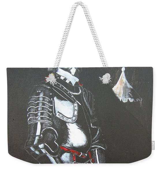 Weekender Tote Bag featuring the painting Henry Ireton by Richard Le Page