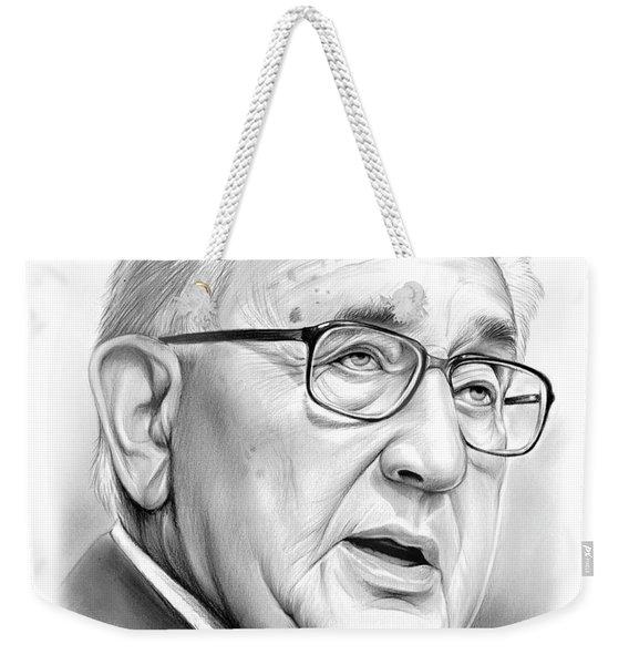 Henry Kissinger Weekender Tote Bag