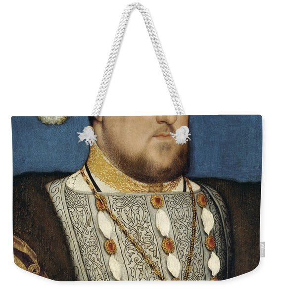 Henry Viii - Hans Holbein The Younger Weekender Tote Bag