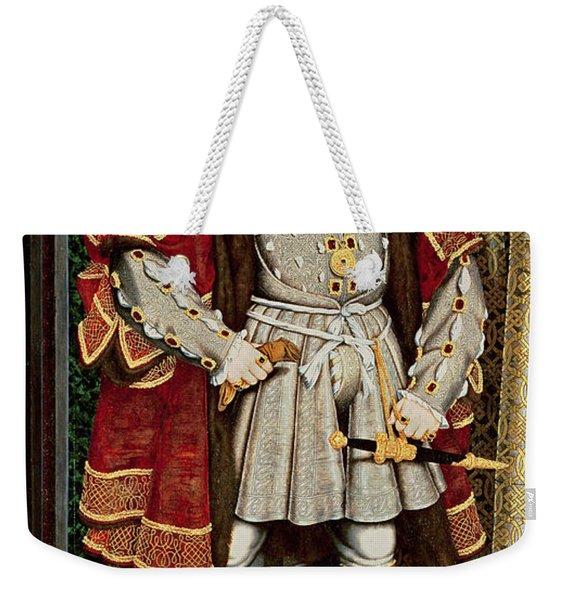 Henry Viii Weekender Tote Bag
