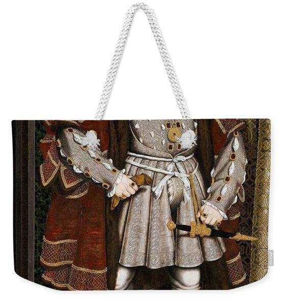 Henry Viii Of England Weekender Tote Bag
