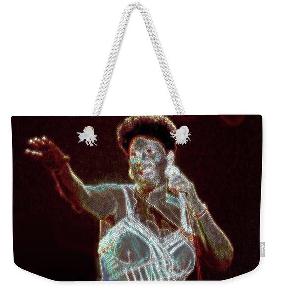 Her Majesty Weekender Tote Bag