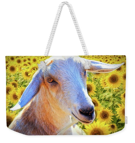 Her Name Is Sunflower Weekender Tote Bag