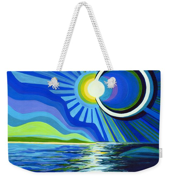 Here Come The Sun Weekender Tote Bag