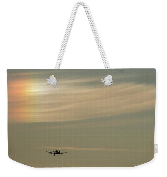 Here We Go Into The Wild Blue Yonder Weekender Tote Bag