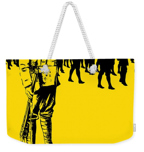 Here's Your Chance - It's Men We Want Weekender Tote Bag