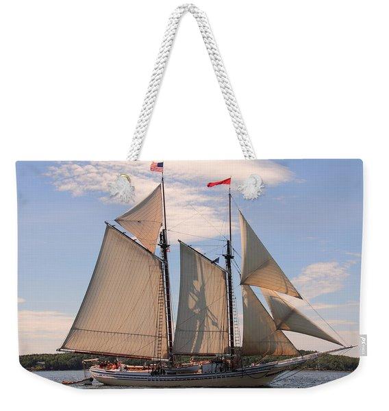 Heritage Full Sail Weekender Tote Bag