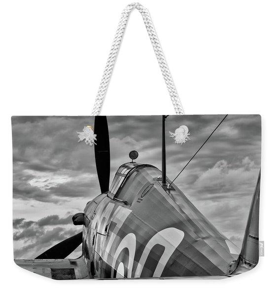 Hero Of Britain Weekender Tote Bag