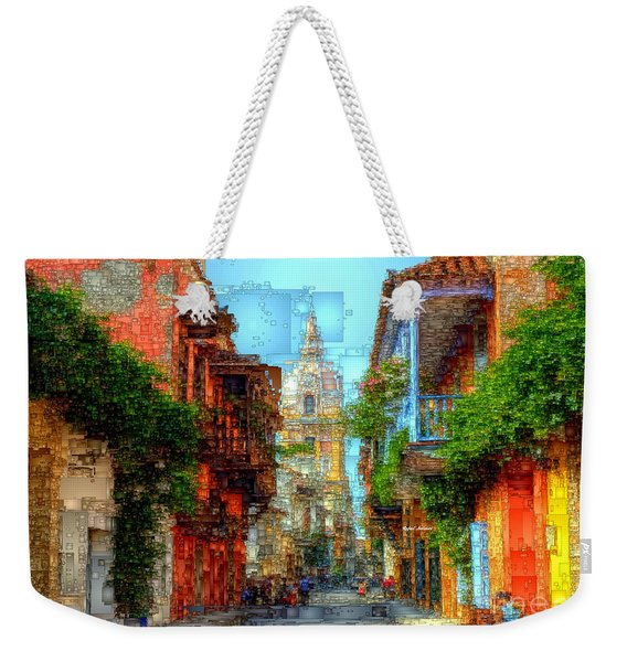 Heroic City, Cartagena De Indias Colombia Weekender Tote Bag