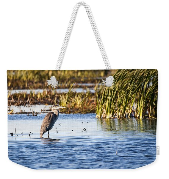 Heron - Horicon Marsh - Wisconsin Weekender Tote Bag