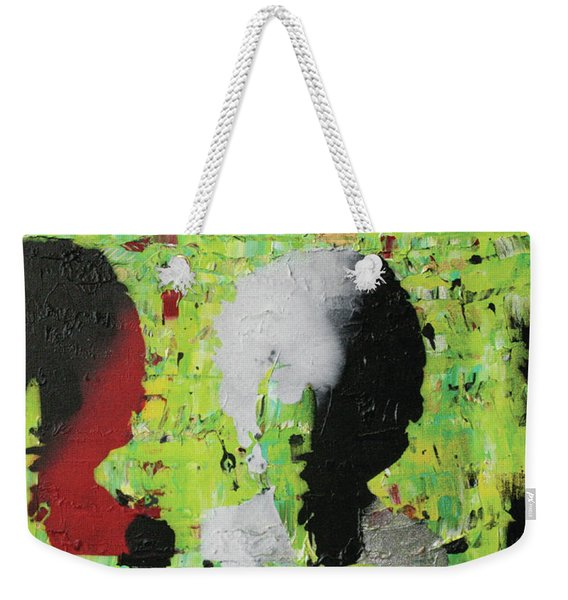 He's Not Selling Any Alibis Weekender Tote Bag