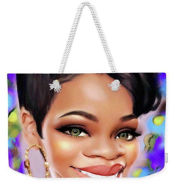 Hey Girl Weekender Tote Bag
