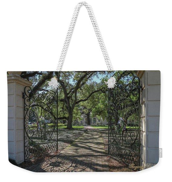 Heyman House Gates 1 Weekender Tote Bag