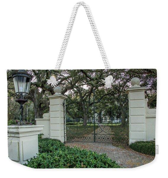 Heyman House Gates Weekender Tote Bag