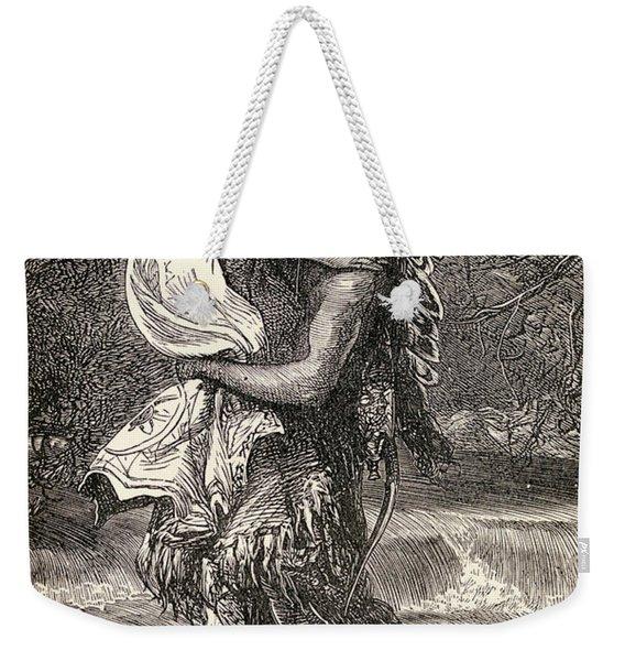 Hiawatha And Minnehaha Weekender Tote Bag