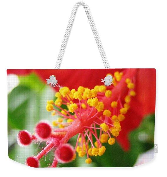 Hibiscus #3 Weekender Tote Bag