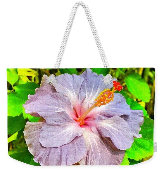 Hibiscus Adele 1 Weekender Tote Bag