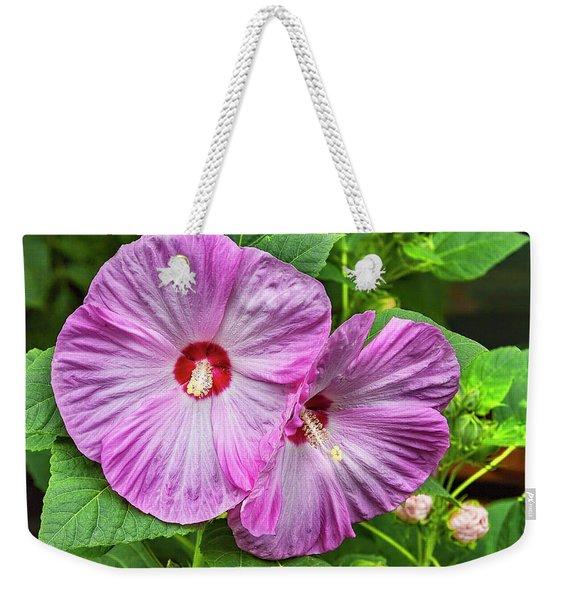 Hibiscus Beauty Weekender Tote Bag