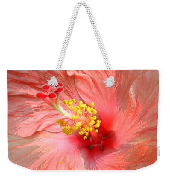 Hibiscus Central Weekender Tote Bag
