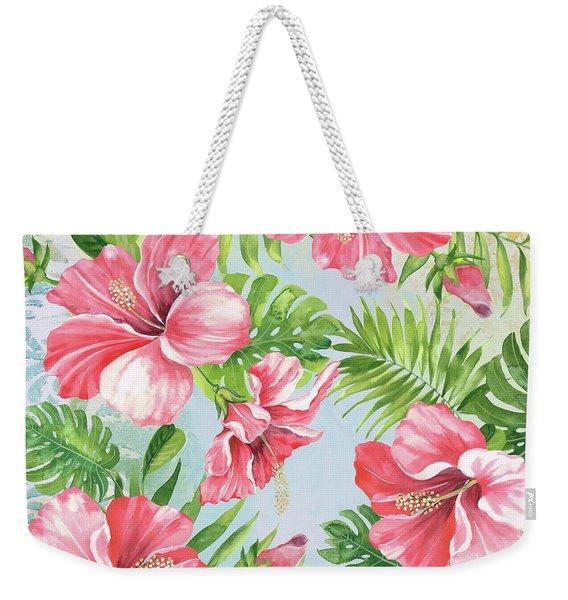 Hibiscus Paradise-jp3965 Weekender Tote Bag